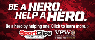 Sport Clips Haircuts of Prince Frederick ​ Help a Hero Campaign